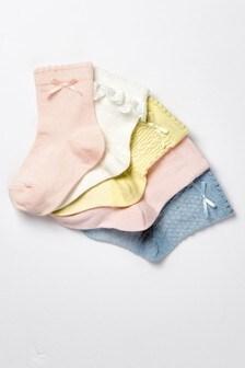 Lot de 5 jolies paires de chaussettes