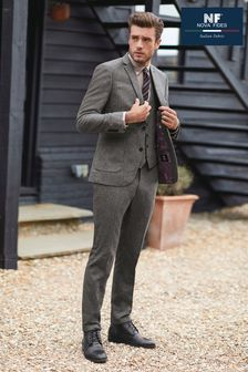 Nova Fides Wool Blend Herringbone Suit: Jacket (656617) | $137