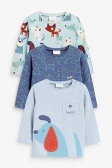 מארז3 חולצות טי נמתחות (0 חודשים עד גיל 3)