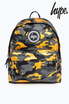 Hype. Gold Camo Backpack