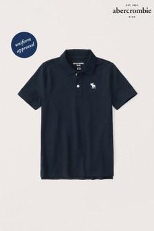 Abercrombie & Fitch ネイビー ポロシャツ