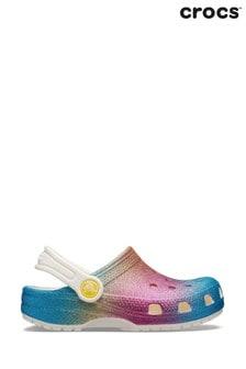 Klasyczne cieniowane chodaki z brokatem Crocs™