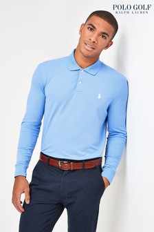 Polo Golf by Ralph Lauren Golf Langärmeliges Pikee-Poloshirt
