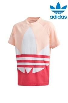 Футболка с трилистником adidas Originals