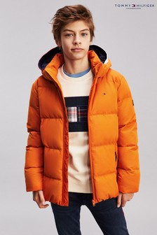 Tommy Hilfiger Orange Essential Padded Jacket