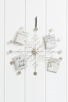 Snowflake Card Holder