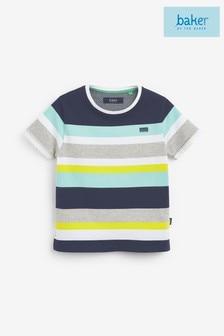 Baker by Ted Baker Boys Multicoloured Striped T-Shirt