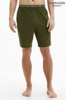 Calvin Klein 綠色CK One環保無鋼圈睡褲