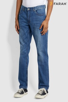 Farah Blue Elm Stretch Denim Jeans