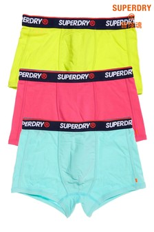 Superdry Orange Label Sports Trunks Three Pack