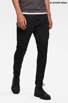 G-Star黑色Rovic修身褲