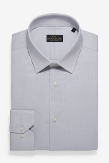 Коллекционная рубашка из фактурной ткани
