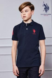 Поло с короткими рукавами U.S. Polo Assn.