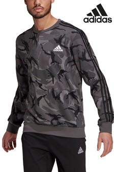 adidas Langärmeliges Shirt mit Camouflage-Muster