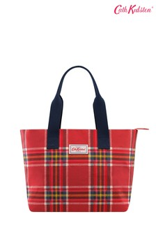 Cath Kidston® Red Casual Brampton Large Tote Clarendon Check