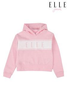 Elle Junior Cropped Kapuzensweatshirt