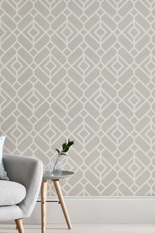 Paste The Paper Lattice Geo Wallpaper