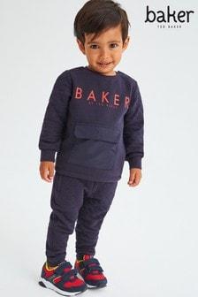 بدلة رياضية مبطنة كحلي من Baker by Ted Baker