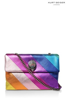 Kurt Geiger London Rainbow Leather XXL Kensington Bag