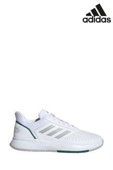 Белые кроссовки adidas Train Courtsmash