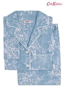 Cath Kidston® Washed Rose Long Pyjama Set