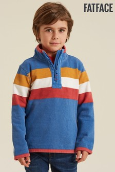 FatFace Blue Stripe Airlie Sweater