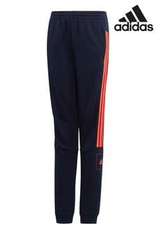 Темно-синие/красные спортивные брюкиadidas Athletics Club