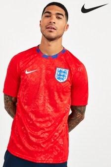 Nike Red England Training T-Shirt