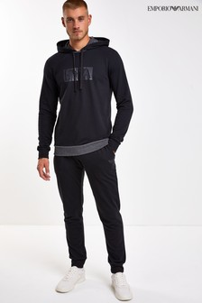 Emporio Armani Loungewear Hooded Tracksuit