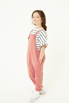 Soft Cotton Dungarees (3-16yrs)