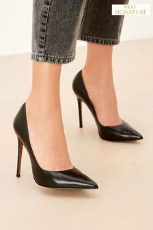 Коллекционные кожаные туфли-лодочки