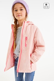 Fluro Trim Shower Resistant Cagoule (3-16yrs)