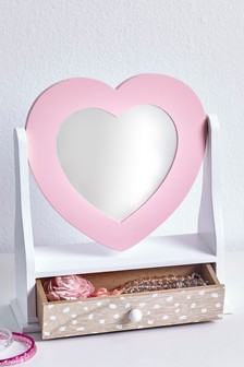 Heart Vanity Mirror