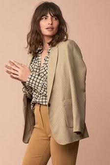 Свободный удлиненный пиджак
