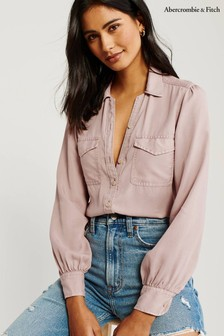 Chemise Abercrombie & Fitch rose