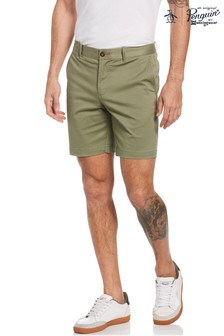 Original Penguin® Green P55 Chino Shorts