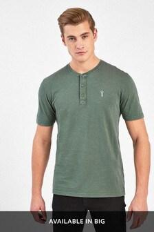 Regular Fit Grandad T-Shirt