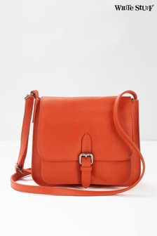 Mini sac White Stuff Sunny orange à boucle