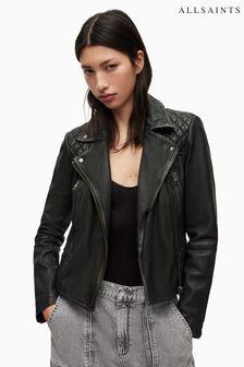 Черная байкерская куртка AllSaints