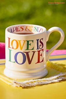 Emma Bridgewater Rainbow Toast Love is Love Mug