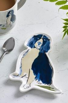 Charlie & Friends Ceramic Spoon Rest