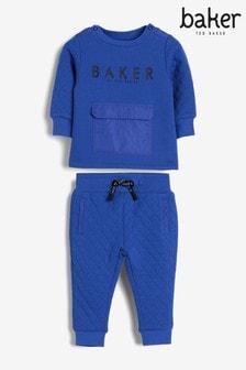 طقم رياضي أزرق منBaker by Ted Baker