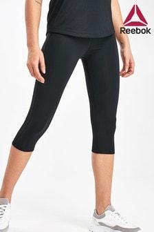 Reebok Black Workout Ready Capri Leggings