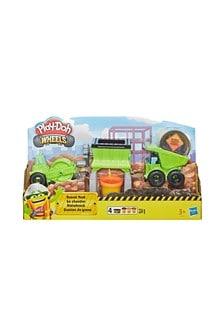 PlayDoh Wheels Gravel Yard Construction Toy