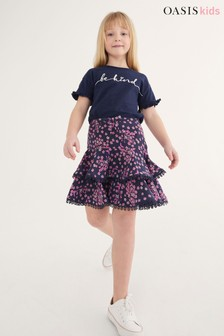 Oasis Tiered Ruffle Skirt