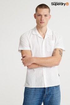 חולצה קצרה שלSuperdryEdit דגם Cabana