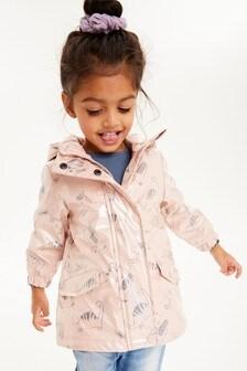 Trblietavý plášť so zvieratkami (3 mes. – 7 rok.)