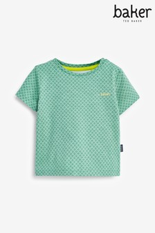 Baker by Ted Baker Baby Boys Geo Printed T-Shirt