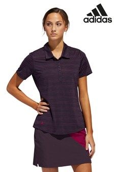 adidas Golf Kleingepunktetes Polohemd