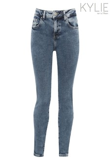 Kylie Natural Skinny Plain Jeans